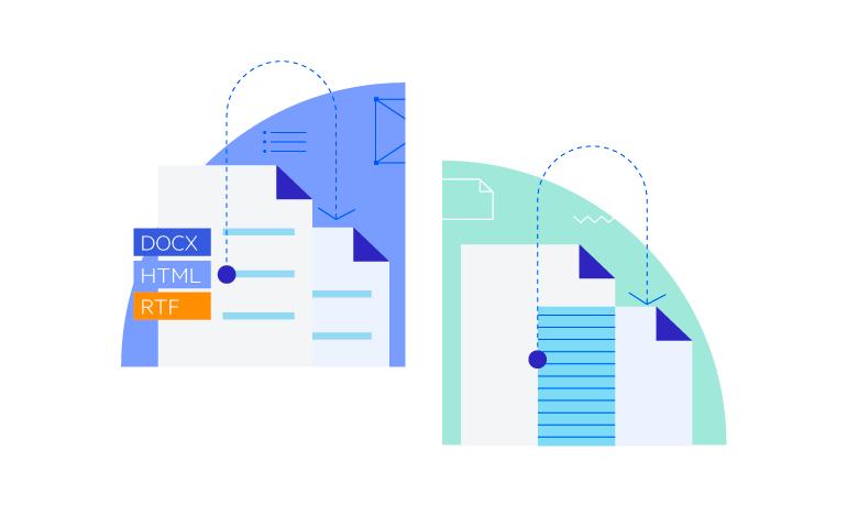 Telerik UI for WinUI WordsProcessing - Clone and Merge Documents