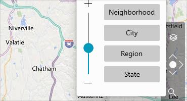 Telerik UI for WinUI Map