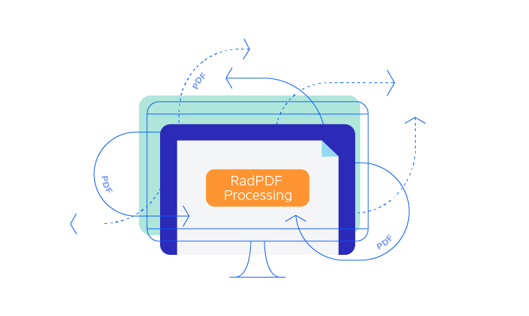 Overview of the Telerik PdfProcessing Library for WinUI
