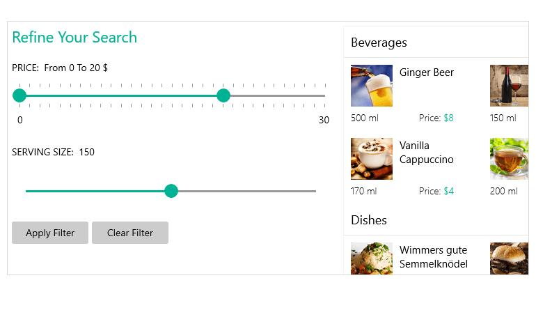 Overview of the Telerik UI RangeSlider for WinUI