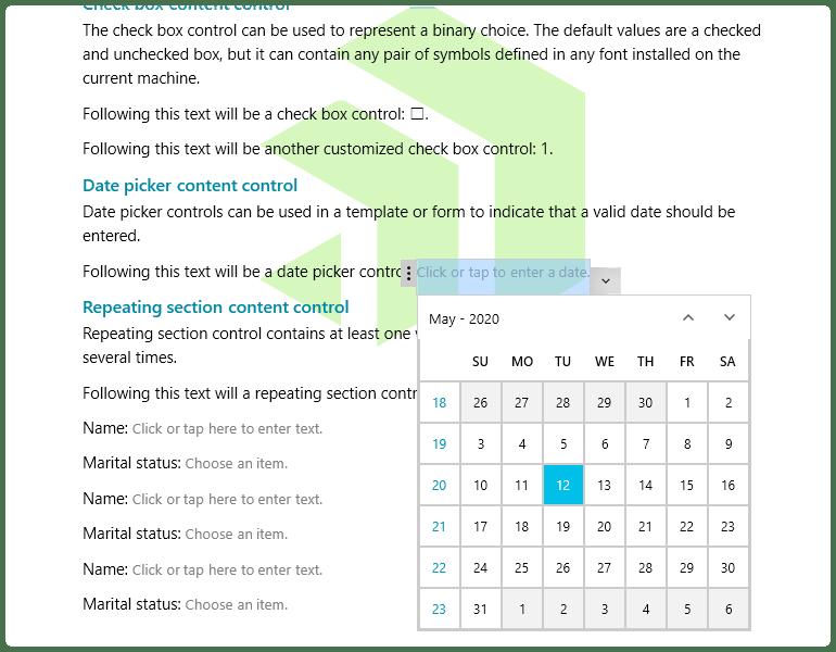 Telerik UI for WPF - Document processing content controls for RIchTextBox