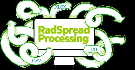 RadSpreadProcessing - Convert Formats