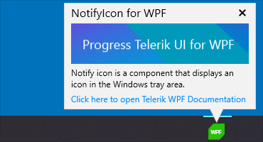 Teleriik UI for WPF - Notify icon control