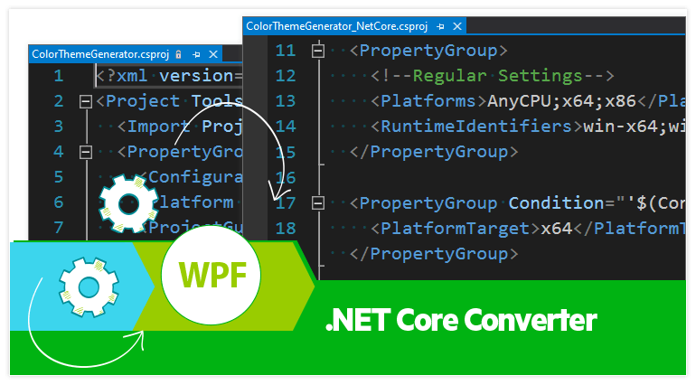 Convert your WPF projects to .NET Core with Telerik's .NET Core Project Converter