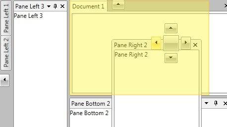 Docking Control - Telerik UI for WPF Components - Telerik