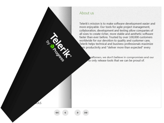 Telerik UI for WPF Book