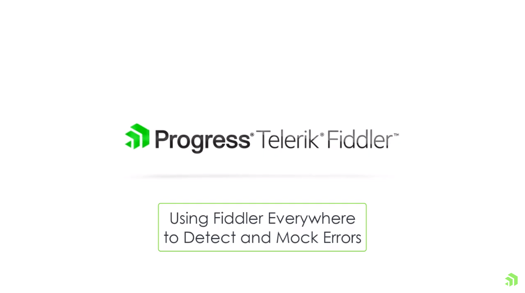 fiddler everywhere discover and mock errors