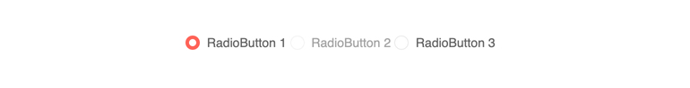 Kendo Angular Radiobutton Component