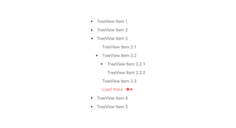 Kendo UI for Angular TreeView with a Load More Button