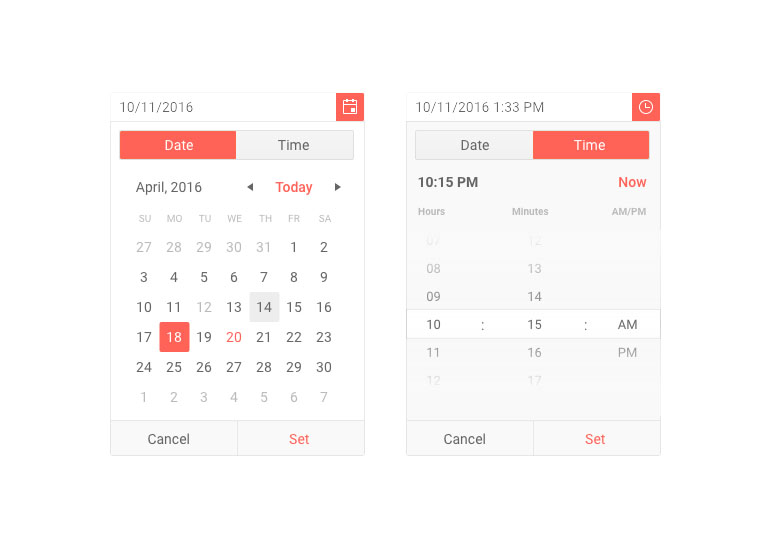 Kendo UI for jQuery New DateTime and Time Picker Rendering