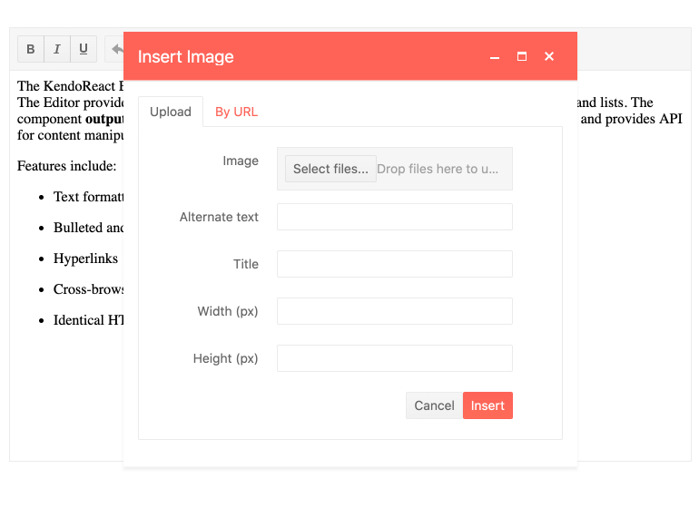 React-Editor-Component-Insert-Image-Dialog
